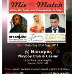 """Tamara Trusseau"" In Association with ""Urban Jazz Radio"" & ""WS-Studio""  Presents ""Mix & Match"""