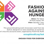 Fashion Against Hunger