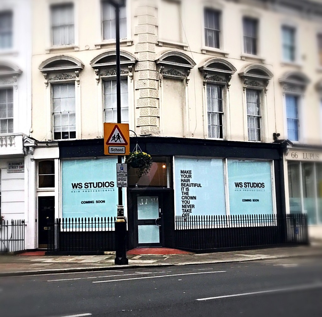 WS-STUDIOS WILL BE OPENING ITS FLAGSHIP SALON IN PIMLICO - LONDON. COMING SOON!!!